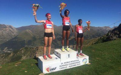 Vice-championne du monde de course en montagne!